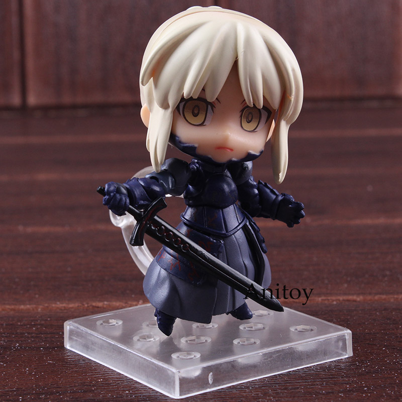 Anime Nendoroid 363 Fate Stay Night Saber Alter Figure Super Movable Edition PVC Action Figures Collectible Model Toy 1