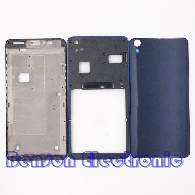 bilder für BaanSam Neue LCD Vordere Frame Mittleren Rahmen Glas Batterie Rückseitige Abdeckung Für Lenovo S850 S850T Gehäuse Mit 3 Mt klebstoff + Antenne