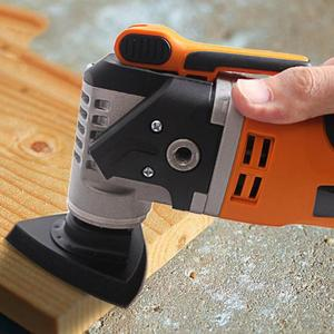 Image 5 - 1Pcs 80Mm Multitool Blades Sanding Pad Reciprocating Saw Blade Flush Triangular Oscillating For Home Power Tool Fein Multimaste