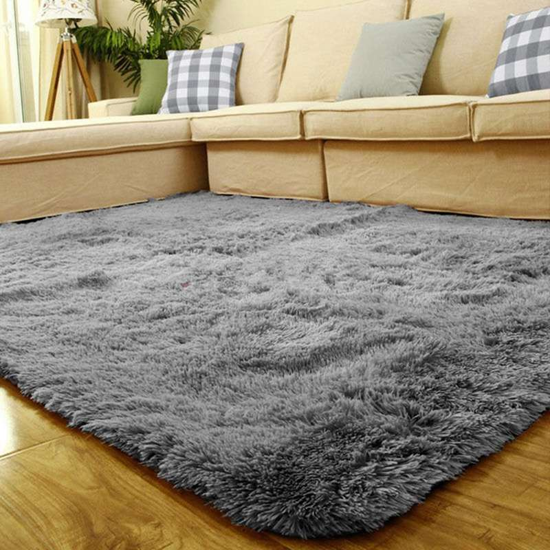 Aliexpress Buy 80x120cm Long Fluffy Anti Skid Floor Mat Shag Area Rug Home Door For Living Room From Reliable Suppliers On