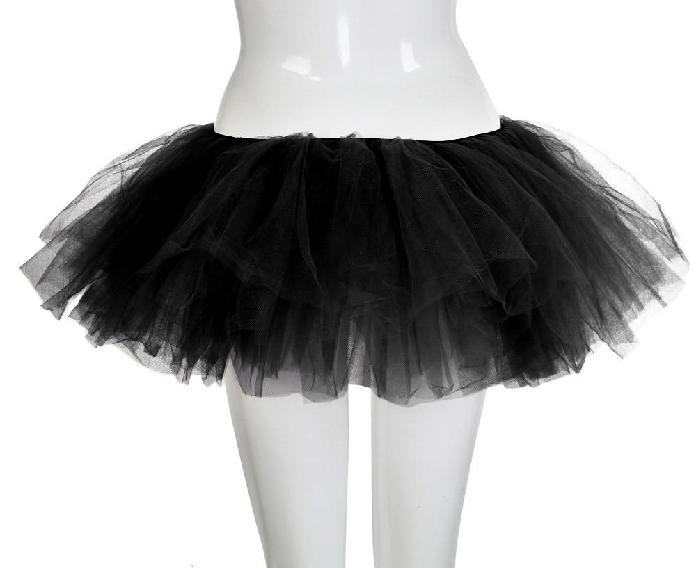 4a2915e1b 5 capas Sexy Midi Tul Falda Streetwear plisado Faldas Mujer corto ...