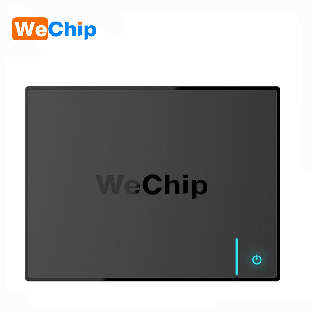 все цены на Wechip V5 S905X Quad Core 2G+16G Android 6.0 TV Box 2.4GHz+5GHz Wifi Bluetooth 4.0 100M Media Player Smart 4K Set Top Box PK X96