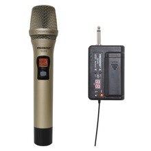 FREEBOSS FB U03 1M 1 voie 100 canaux métal émetteur de poche sans fil Microphone caméra Microphone karaoké de fête