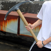 80cm Fortnight Pickaxe Action Figure Toy model Weapon Cosplay PVC Axe Reaper Pickaxe Collection Toy Fortnite
