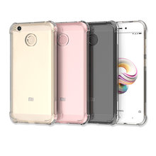 Silicone Case for Xiaomi Redmi 3s/4a/4x/5/5a/6/6a Plus S2 Note 3 5 5a Tpu Soft Cover Shockproof Back Transparent Case(China)