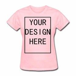 Custom Women's Blank Standard Weight T-Shirt