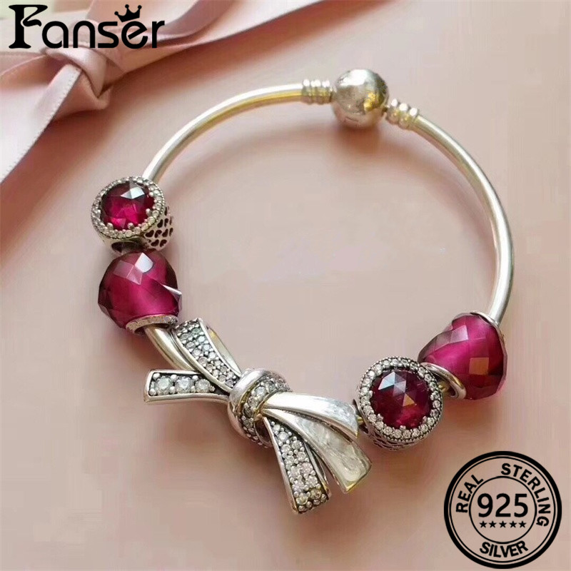FANSER Super bow IDY Bracelet Pandors Bracelet Original Picture And More Products Into The Store To Contact Customer Service