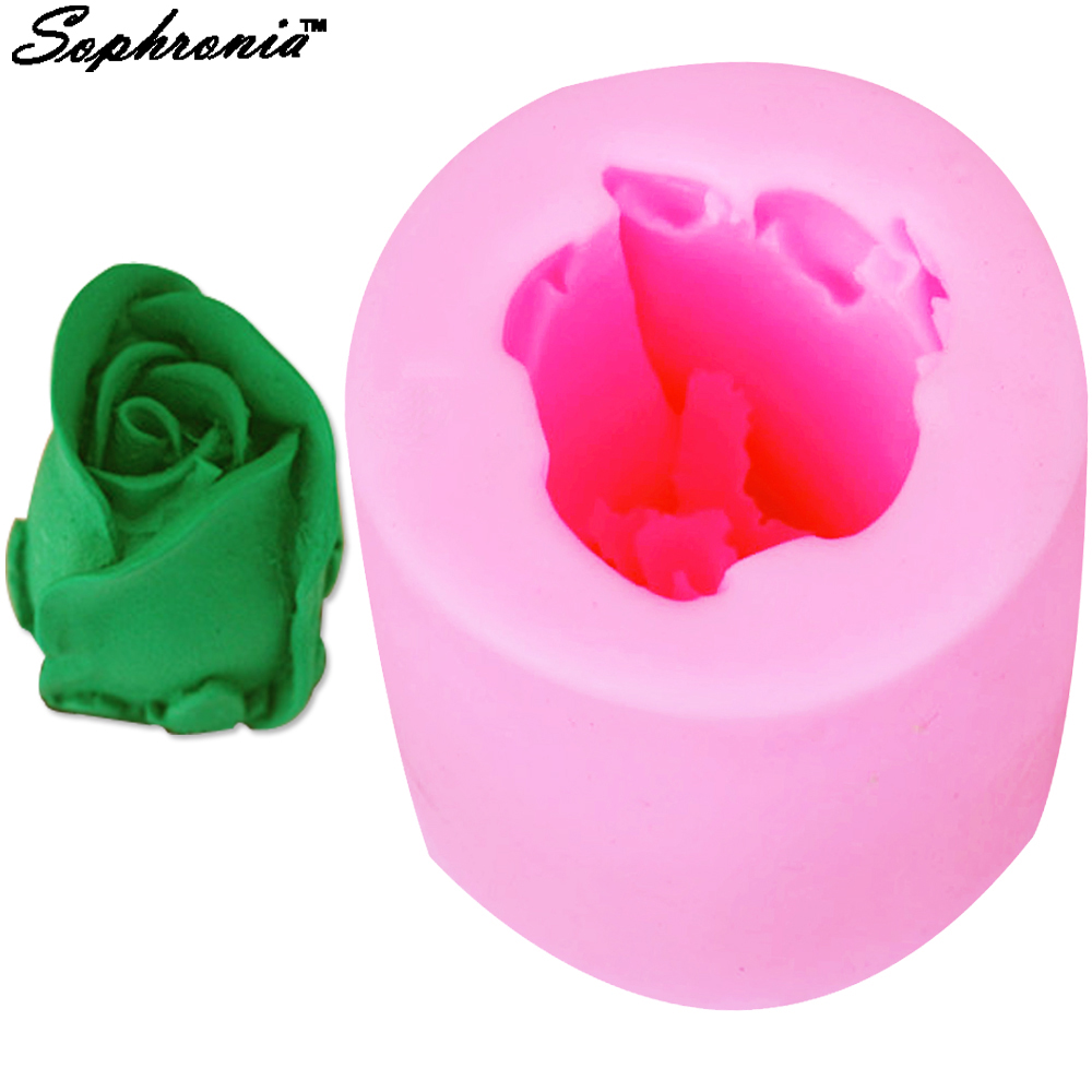 Arts,crafts & Sewing Aspiring 3d Rose Flower Silicone Soap Mold For Natural Handmade Craft Resin Clay Chocolate Candy Mould Large Assortment
