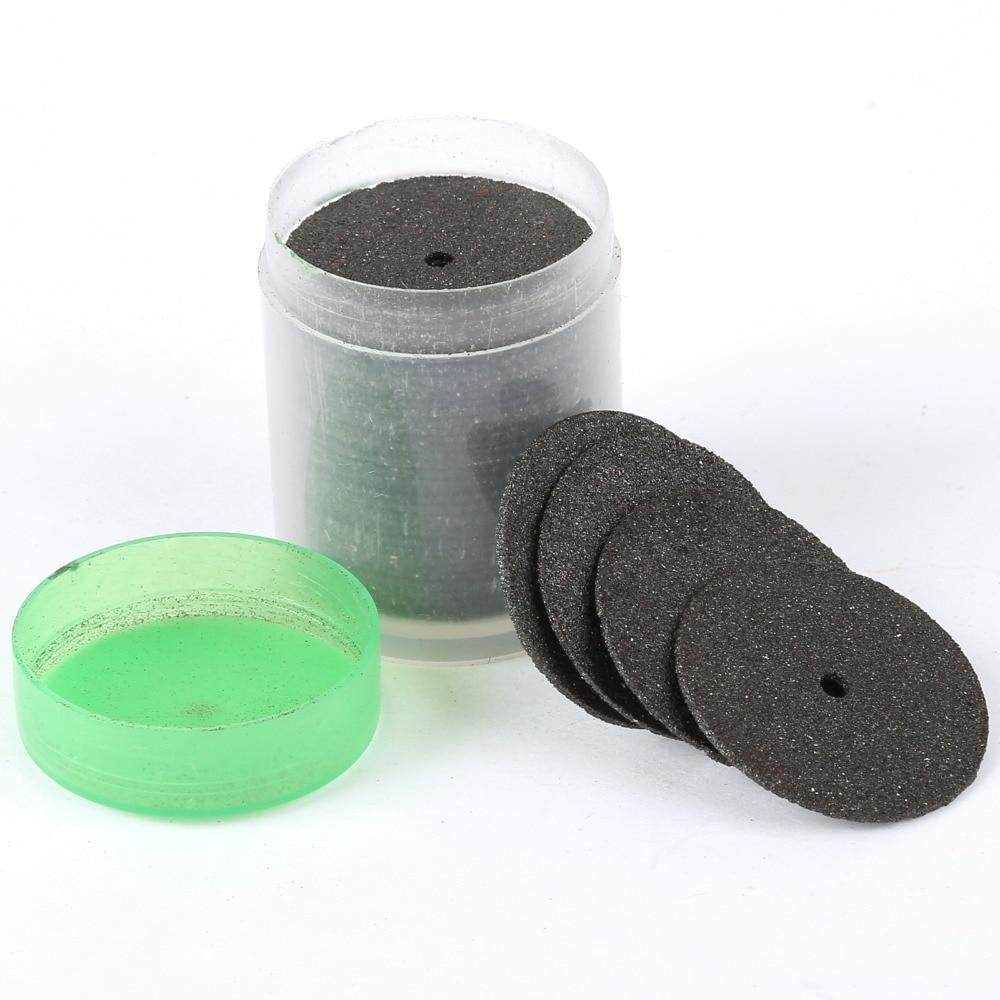 36 Pezzi Dremel Accessori 24mm Dischi abrasivi da taglio Dischi da - Utensili abrasivi - Fotografia 5