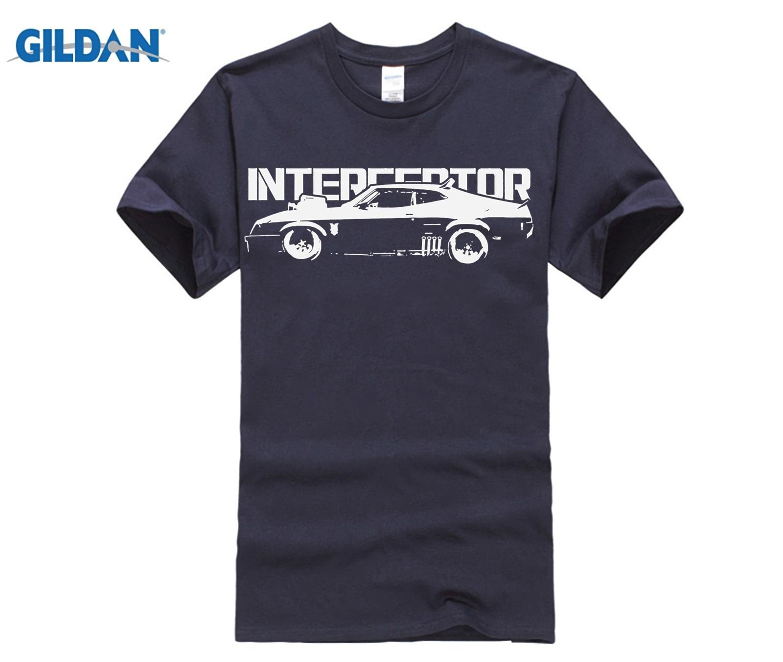 New Mad Max Interceptor Muscle Car Graphic Cotton Blac T Shirt Men Black Short Sleeve Cotton Hip Hop T Shirt Print