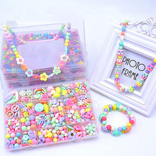 Fashion Toys For Colorful Girl Toy DIY Bracelet Jewelry Making Kids Hama Beads Set Educational 3D Puzzle Perler