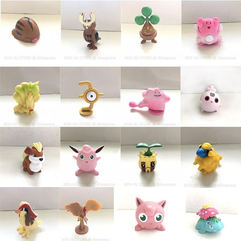 4cm Normal Size Action toy figures Collection model toy Car decoration toy KEN HU STORE pks action figure pokemon