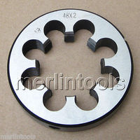 48mm x 2 Metric Right hand Thread Die M48 x 2.0mm Pitch|hand threaded|threading diesdie thread -