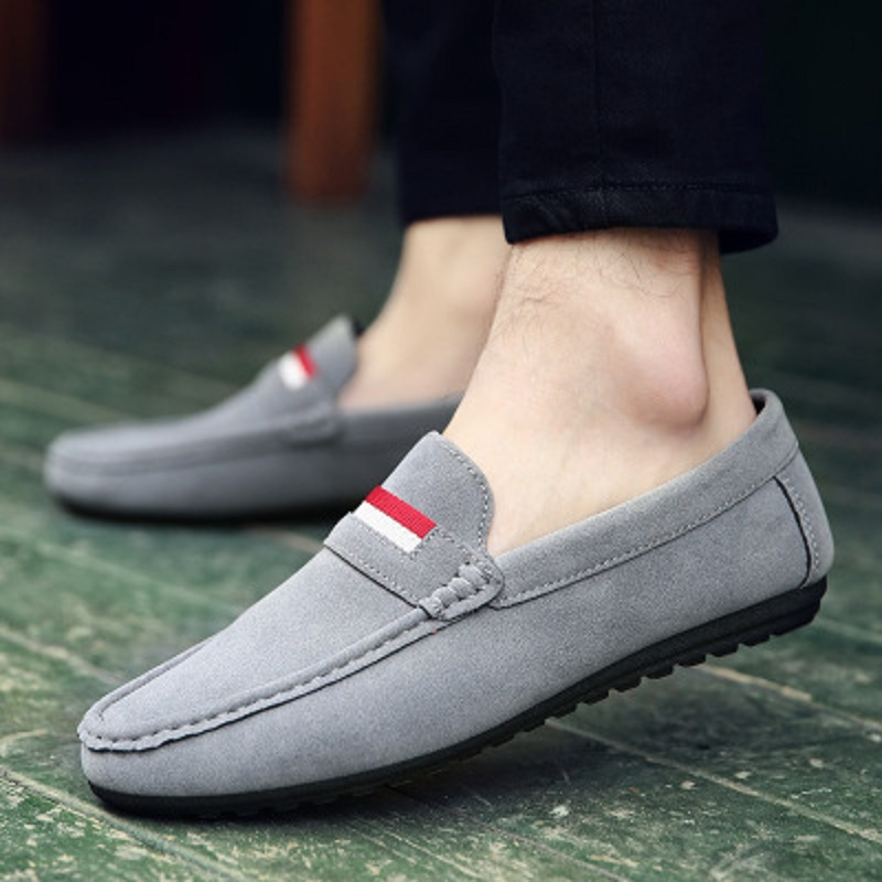 Spring and autumn new youth trend shoes flat comfortable casual men's shoes 44