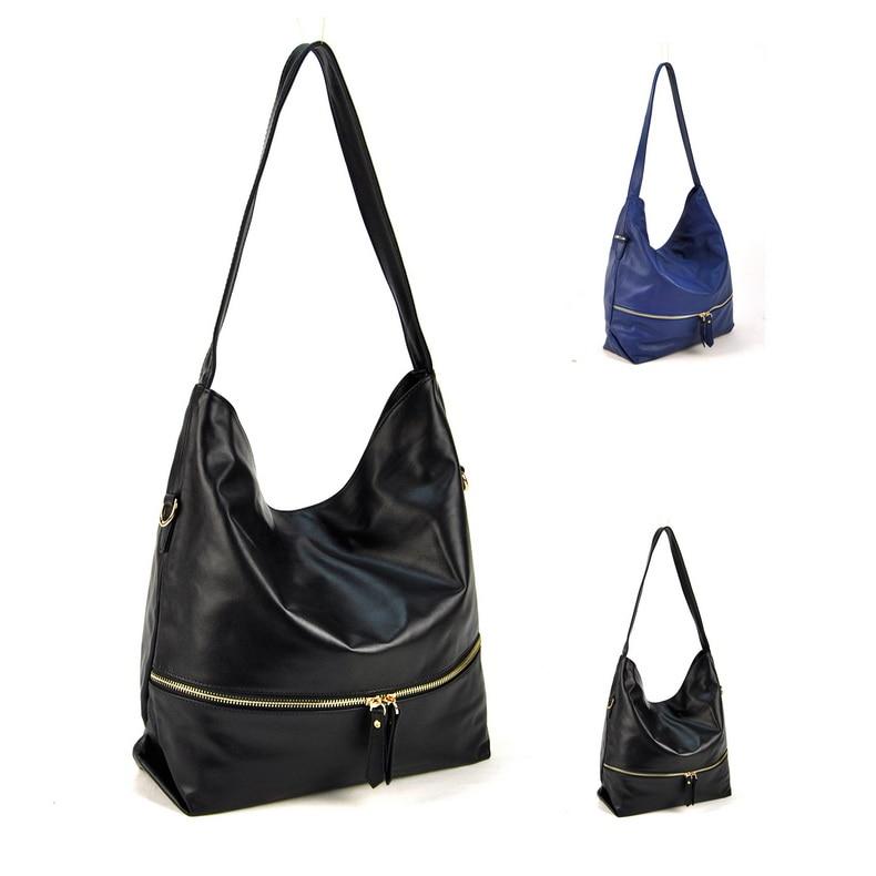 Фото Women Genuine Real Calf Leather Hobo Shoulder Handbag Cross Body Classic Purse Satchel Fashion Daily Casual Lady Sling Work Bag. Купить в РФ