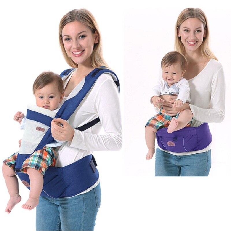 ୧ʕ ʔ୨Mochila infantil del bebé del portador de bebé tirantes bebé ...