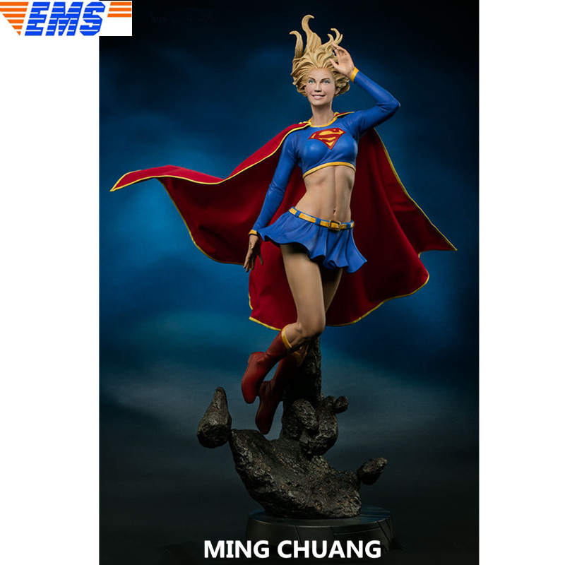 24 Superhero Statue Kara Kent Bust Supergirl Full-Length Portrait 1:4 GK Action Figure Collectible Model Toy BOX 60 CM Z21224 Superhero Statue Kara Kent Bust Supergirl Full-Length Portrait 1:4 GK Action Figure Collectible Model Toy BOX 60 CM Z212