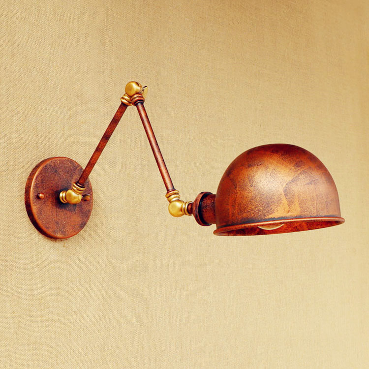 Antique Industrial Loft Vintage Wall Lamp Home Lighting Swing Long Arm Wall Light Edison Wall Sconce Applique Murale Luminaire
