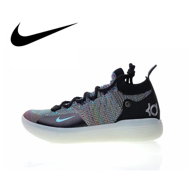Original Nike Zoom KD11 EP Men's Comfortable Basketball Shoes Sport Sneakers Top Quality Athletic Designer Footwear 2018 New