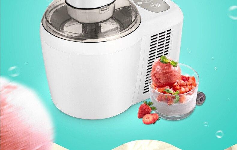 Ice Cream Machine Children Mini- Ice Cream Machine Household Small-sized Fully Automatic Ice Cream Trigger Commercial 4