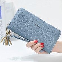 Women's Best Wallet With Tassels Roses Purse Female Fashion