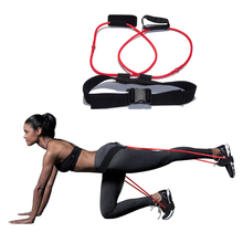 Yoga Pull Training Rope Fitness Resistance Workout Cordages Exercise Tubes Practical Training Elastic Band Rope 1PC new pilates suspension elastic sling practice pull rope bungee home workout trainer cord resistance hang training straps