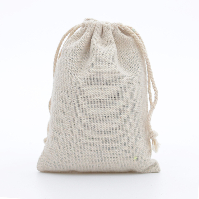 8d96f07903c2 US $28.89 15% OFF|13x18cm Pack of 50pcs Hemp Jute Cotton and Linen  Drawstring Handmade Jewelry Soap Coffee Bean Packaging Christmas Gift Sack  Bags-in ...
