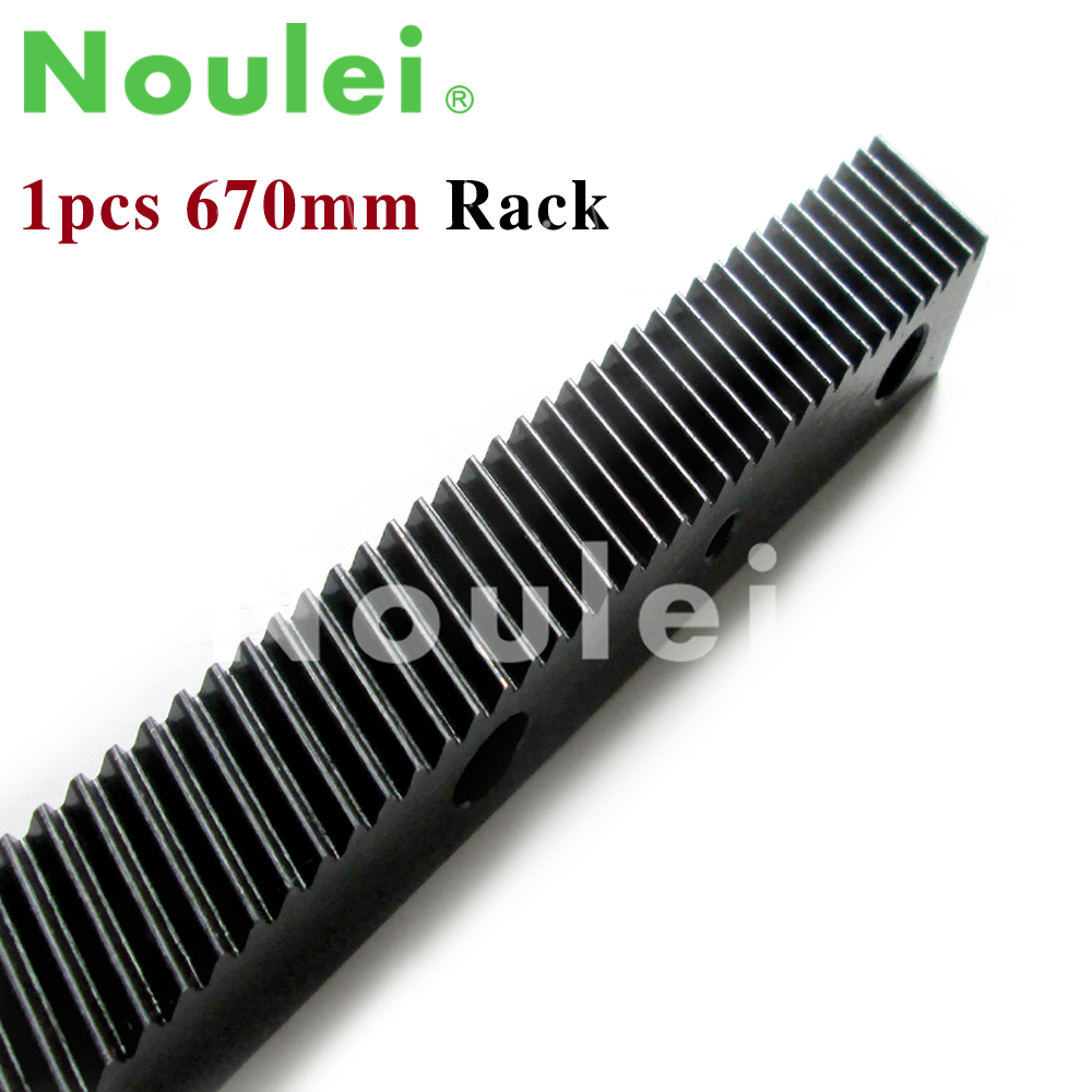 1 25 modulus helical teeth Gear Rack steel 670mm high precision for cnc font b router