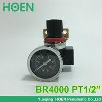 High Quality Air Compressor Pressure Regulator Airtac Type Control Pneumatic BR4000 1 2 Port Size Air