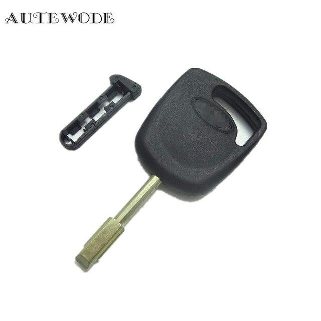 Autewode Replacement Transponder Key Shell Fit For Ford Ka Fiesta Escort Jaguar Key Fob Accessories Pcs