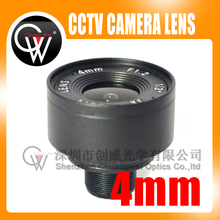 4mm lens 1/3″ F1.6 CCTV Fixed Iris IR Infrared M12 Mount Lens For Security CCTV Camera