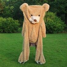 340 cm Büyük Ayı Cilt Dev Ayı Cilt Teddy Bear Hull, Süper Kaliteli Oyuncaklar Peluş Kızlar için