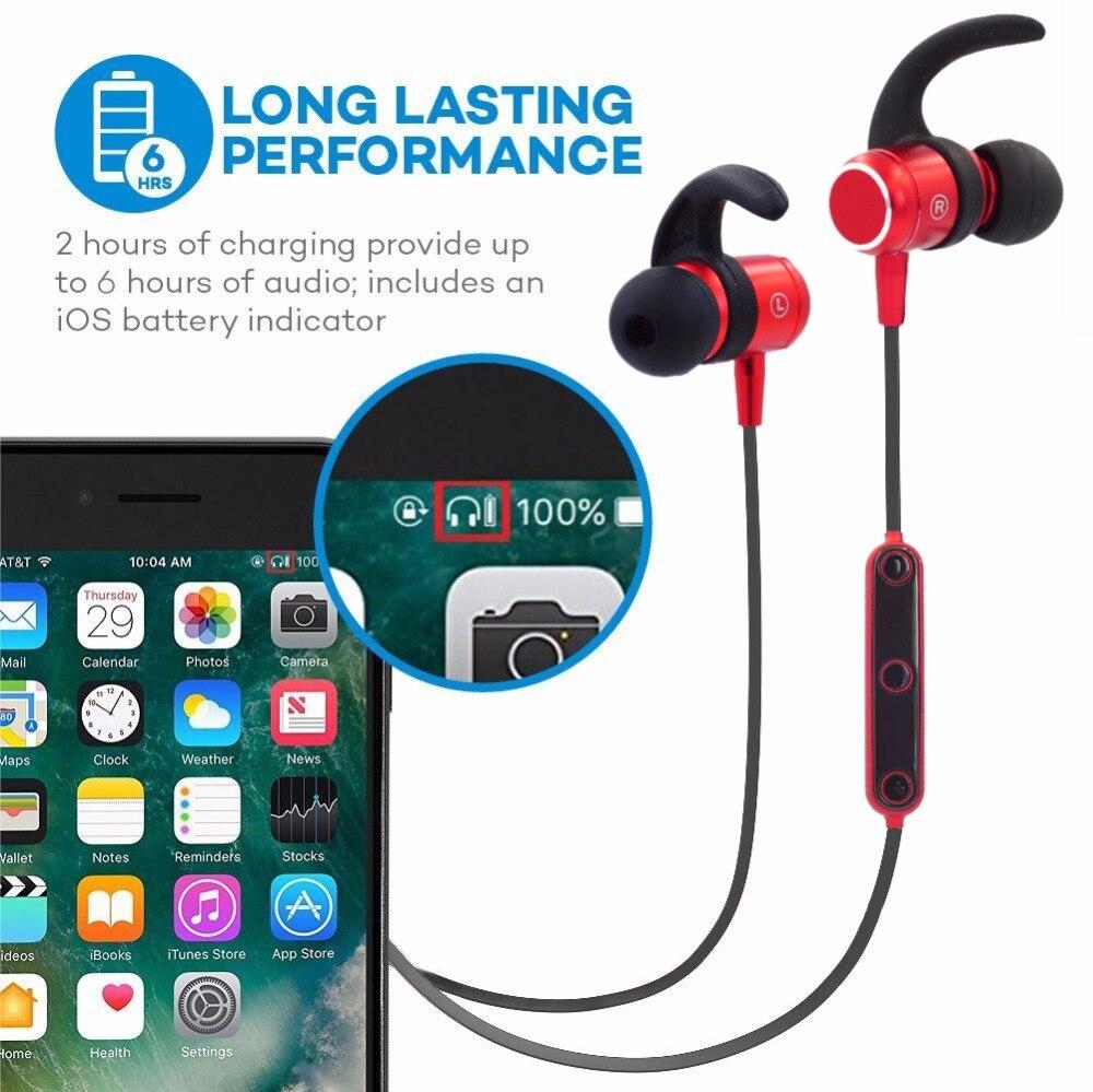 DUSZAKE S2 Sport Bluetooth Headphones Wireless In Ear Hearphone For iPhone Earphone Bluetooth Headphone For Xiaomi Samsung Phone