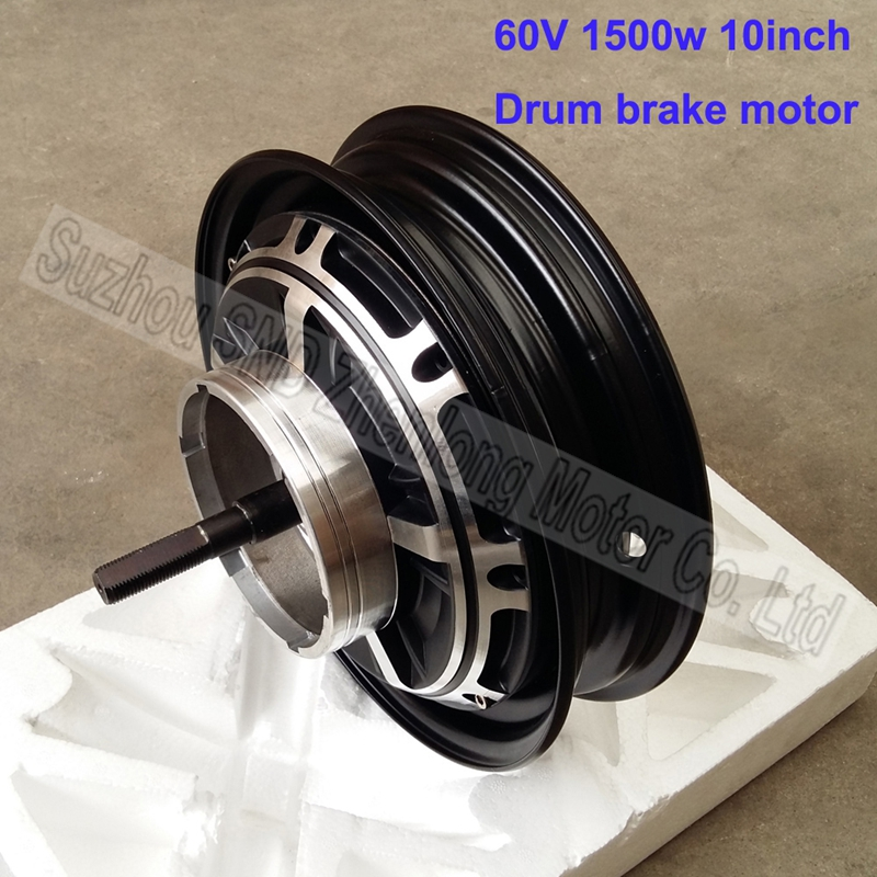 Electric Motor For Bicycle >> 10inch 60V 1500W high power e scooter brushless motor/e ...