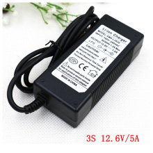 AERDU 3S 12.6V 5A 12V Power Supply lithium Battery pack Li-ion batterites Charger AC 100-240V Converter Adapter EU/US/AU/UK plug