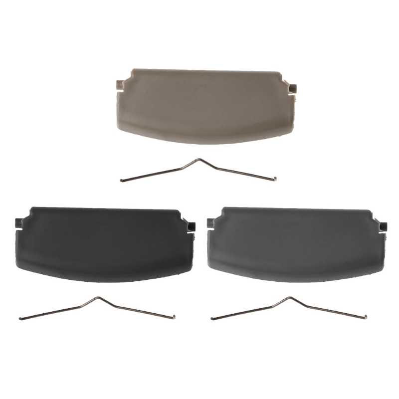 مسند ذراع للسيارات مزلاج غطاء الكونسول الوسطي غطاء مرآة مصمم للسيارة أودي A4 B6 B7 2002-2008 3 ألوان-M25