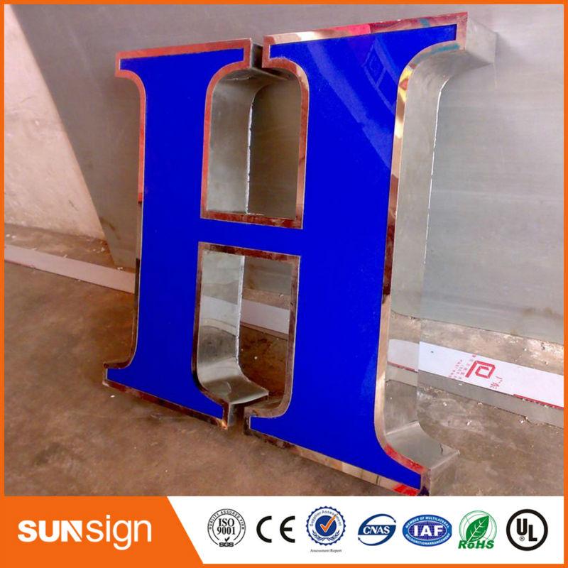 China Manufacturer Frontlit Led Sign Light Letters For Advertising