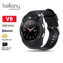 Beitony Smart Watch Fitness Tracker Nano SIMCard Whatsapp And Facebook Smartwatch Women Business For IOS Android