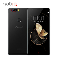 Original Nubia Z17 Mobile Phone 6GB RAM 128G ROM Octa Core 23.0MP+12.0MP Dual Back Cameras Fingerprint NFC 1920*1080 FHD