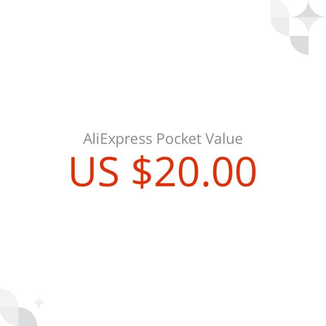 US $ 20 AliExpress Pocket