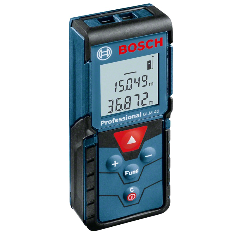 Distance meter laser Bosch GLM 40 (Distance measurement 40 M., calculation area, protection class IP54) цена