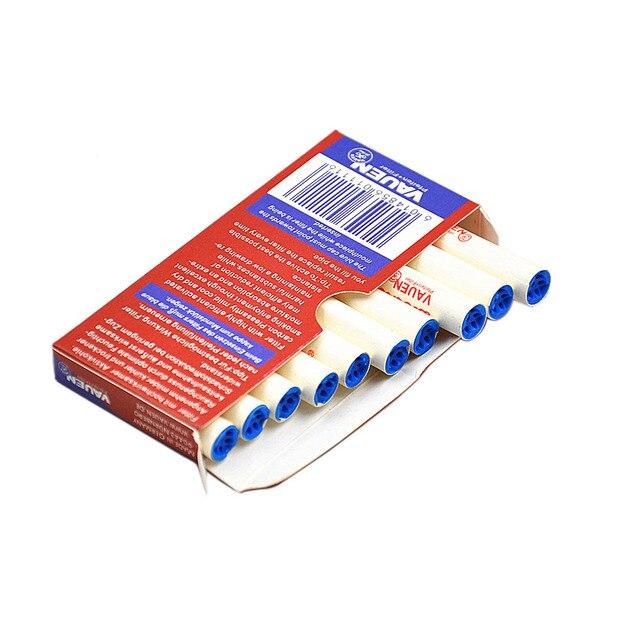 10 pz/pacco Fumo Filtro del Tubo di 7mm di Fumo Filtri Usa E Getta Tubo di Tabac