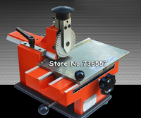 Blech embosser, manuelle prägemaschine, aluminiumlegierung typenschild prägemaschine, label gravieren werkzeug mit 1 getriebe