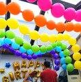 20 unid de 10 Pulgadas Globos de Fiesta de Cumpleaños de Globos Decoración de La Boda de Cola Rojo Rosa Púrpura Partido Globos Cola Blobos Anniversaire