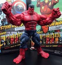 "ML Legends mściciel Incredible Hulk Red Hulk Loose 8 ""figurka"
