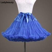 Ladybeauty 2018New Arrival Petticoats Tulle Underskirt Short Skirts For Wedding Dress Crinoline Women Skirt In Stock
