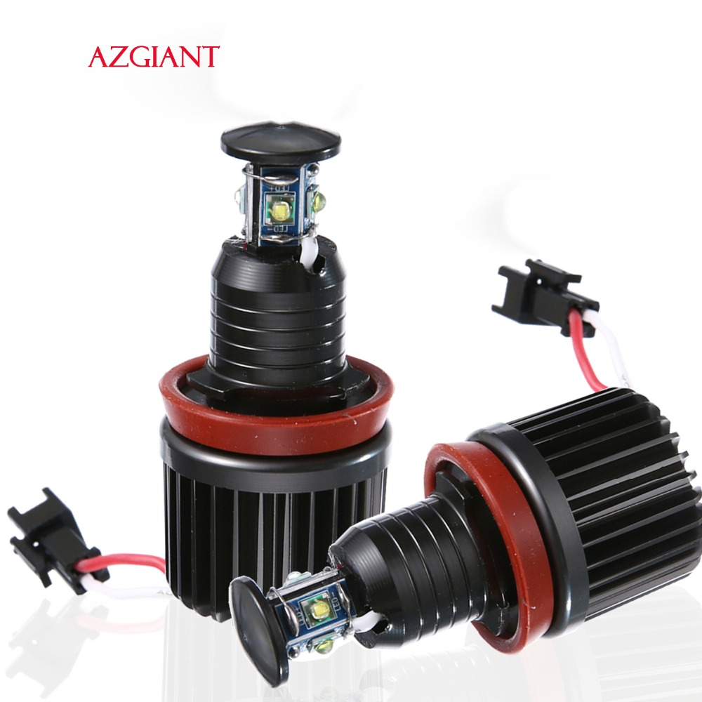 AZGIANT 2PCS 40W H8 Headlamp For BMW E91 E92 E93 LED 6000K White 12V 800Lm Bright Light Bulb Convinent Driving Headlamp