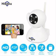 HD 720 P Мини wi-fi Ip-камера беспроводная P2P baby monitor сеть CCTV Камеры Безопасности Дома легко mobile connect Hiseeu