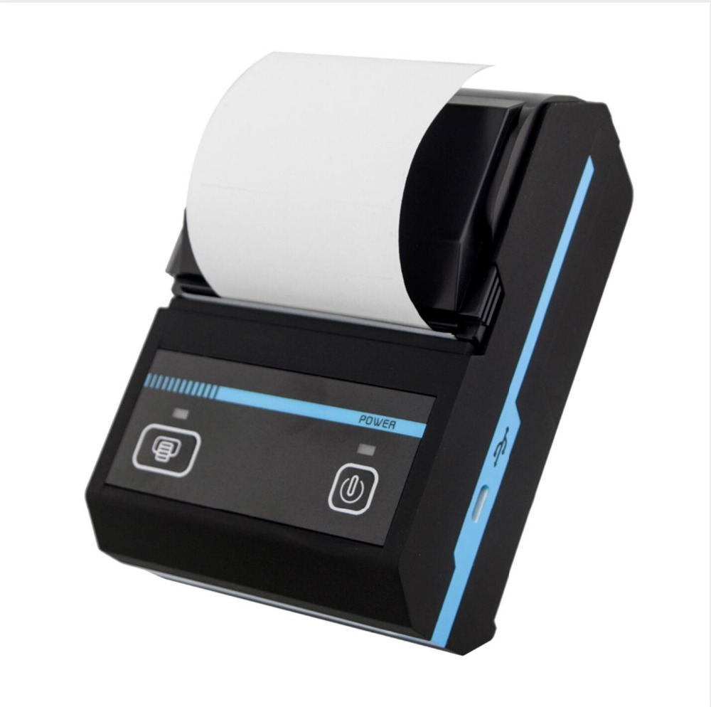 58mm Portable Bluetooth Thermal Printer for Android IOS