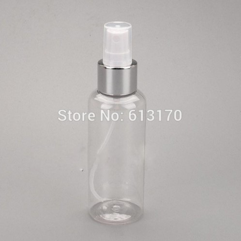 Beauty & Health Skin Care Tools Helpful 200ml Pet Spray Bottles Empty Travel Refillable Bottle Clear Perfume Vials Silver Rim Atomizer Cosmetic Packing Container Buy Now